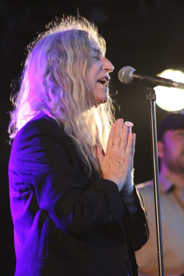 Patti Smith ressuscite nos rages et nos rêves